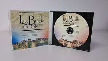 CD vom Musical Louis Braille