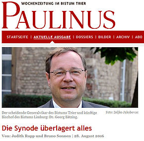 Interview im Paulinus
